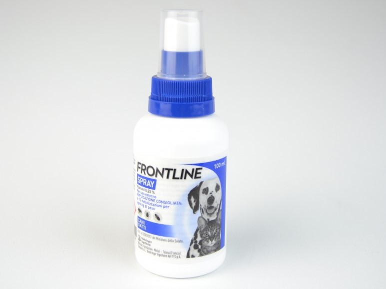frontline spray boehringer flacone da 100 ml